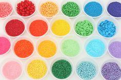 Rainbow of sprinkles