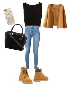 """Untitled #45"" by ssdeamues on Polyvore featuring Timberland and Casetify"