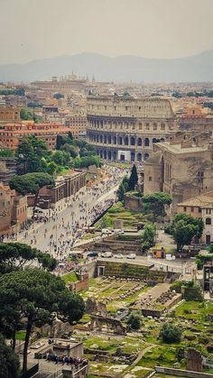 Too much to see in Rome! Rome in a day? Ruins can be romantic, as Rome proves time and again. Places Around The World, Oh The Places You'll Go, Cool Places To Visit, Travel Around The World, Places To Travel, Around The Worlds, Travel Destinations, Wonderful Places, Beautiful Places