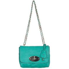 Mulberry Lily Sparkle Green #bags #mulberry #green