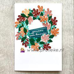 Dit is mijn inspiratiekaart voor de kleurencombinatie van oktober 2020. Cajun Craze, Pumpkin Pie, Coastal Cabana, Pretty Peacock en Shaded Spruce. Ik gebruikte voor deze kaart de Arrange a Wreath stempelset. De kleuren zijn perfect voor een herfstkrans als deze #prulleke #prullekekleurencombinatie #stampinupnederland #stampinupdemonstratrice #stampinupdemo #kleurencombinatie #echtepostiszoveelleuker #arrangeawreathstampset #arrangeawreathbundle #wreathbuilderdies