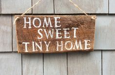 HomesteadDesign on Etsy made this adorable sign- goes great with rustic and farmhouse decor!