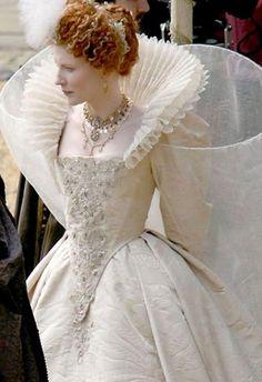 Inspired... Cate Blanchett in 'Elizabeth: The Golden Age', directed by Shekhar Kapur, 2007.