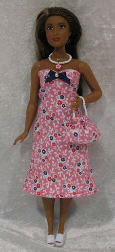 Barbie Evolution Fashionistas #27 Curvy Body Nude Doll Blue Hair NEW Teresa Face