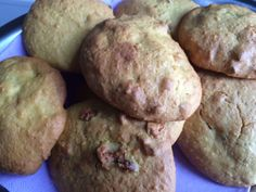 Cookies de citrouille et noisettes