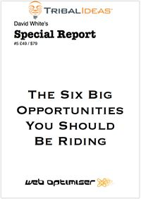 You have to know whats going on to succeed with these six big opportunities, otherwise, it could be the end, as it has been for so many