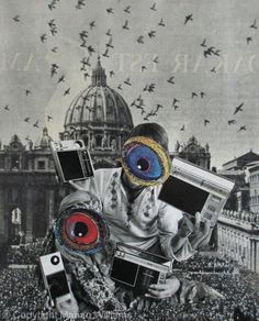 Hippies - Collage - Original