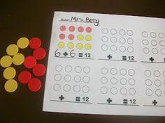 First Grade School Box: Fact Family Activities