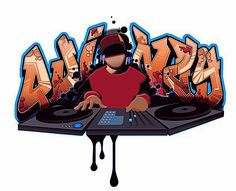 Hip Hop Pictures Graffiti | HipHop Graffiti Alphabet | Digital Graffiti