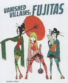 Three Deleted Villains (The Fujitas) from Big Hero Part 1 Scanned from The Big Hero 6 Art Book Character Concept, Character Art, Concept Art, Character Sheet, Geisha, The Big Hero, Character Design References, Character Design Inspiration, Disney Art