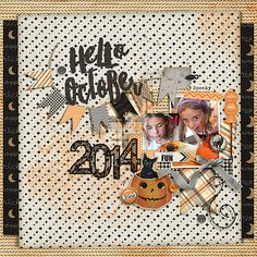 2014 Hello October by Iowan using digital scrapbooking products from the Lilypad