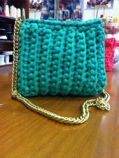 Bolso trapillo -turquoise my color! ♛ Anastasia Gr