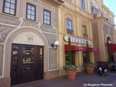 Via Napoli, Epcot, Walt Disney World  Yummmmy! Loved it all, the new pizza window will be opening soon!