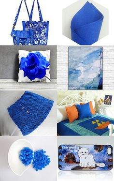 Shopping in Deep Blue!! by Patty on Etsy--Pinned with TreasuryPin.com