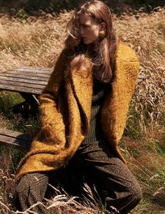 Julie Hoomans by Paul Bellaart for Vogue Netherlands October 2015