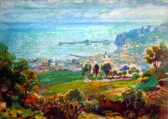 Gustavo Bacarisas Podestá (Gibraltar, 1873 - 1971) Paintings, 19th Century, Scenery, Art, Paint, Painting Art, Painting, Painted Canvas, Portrait