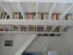 Unique Ceiling Ideas Bookshelf