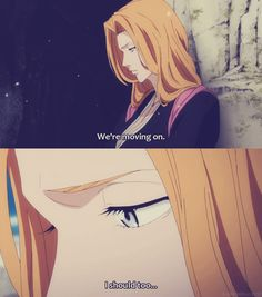 Rangiku remembers Gin. <3 #bleach