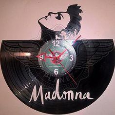 Amazon.com  MADONNA wall clock - VINYL PLANET