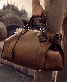 99fcec9cbb From the Louis Vuitton Men  Spring 2015 campaign comes a soft-sided bag in  timeless leather