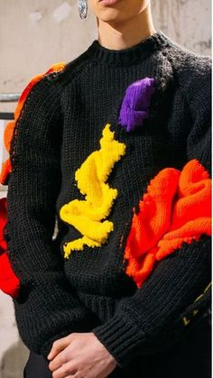 Intarsia sweater - #trends #trend #searches #treding