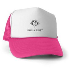 Bad Hair Day Trucker Hat on CafePress.com be1e908530b7