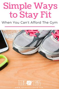 Many teens can't afford a gym membership but there are so many simple ways to stay fit when you can't afford the gym. Karina shares what she's learned!