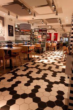 Pizza Express (London, UK) | Creed Design Associates | Restaurant and Bar Design Awards