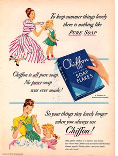 : Vintage Ads for Detergents and Other Household Products