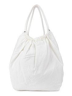 Cotton Canvas LA-Z Girl Side Pocket Bag