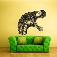 Wall Vinyl Sticker Decals Decor Art Bedroom Kids Design Mural Nursery Head Dinosaur Dino Detailed (Z2211) StickersForLife http://www.amazon.com/dp/B00H4AE49M/ref=cm_sw_r_pi_dp_eKVoub10EH9RQ