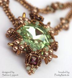 PrettyNett - unique handmade beaded jewelry: Juliet - necklace Kette