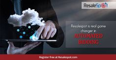 Resalespot is real game changer in automated bidding. Register free at Resalespot.com #BiddingAppication — in Texas.