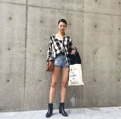 Yoon Young Bae is walking in the biggest shows of fashion week, but it's her cool off-duty style that has fashion girls following.