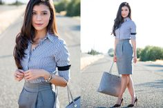 Gray-outfit-for-the-office-stylishlyme