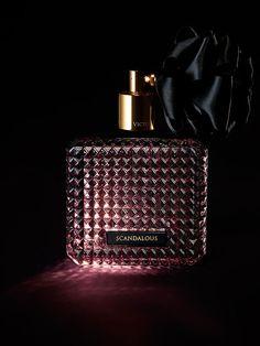 Set the mood with notes of Raspberry Liqueur, Black Peony & Praline. | Victoria's Secret Scandalous Eau de Parfum