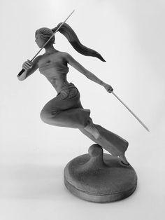 Erza Scarlet Material: Super Sculpey Firm