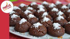 Browni Kurabiye Tarifi | Nefis Yemek Tarifleri Recipe Mix, Chocolate Covered Strawberries, Turkish Recipes, Kakao, Mediterranean Recipes, No Bake Cake, Deserts, Dessert Recipes, Food And Drink