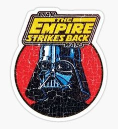 """Topps Empire"" Stickers by ImSecretlyGeeky Stickers Cool, Star Wars Stickers, Tumblr Stickers, Printable Stickers, Laptop Stickers, Planner Stickers, Geek Wallpaper, Retro Logos, Aesthetic Stickers"