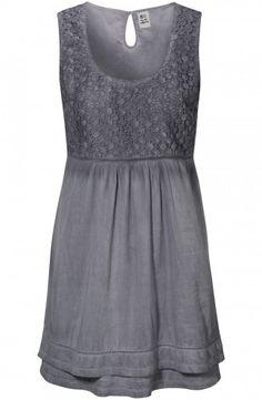 Ines Dress Misty Grey