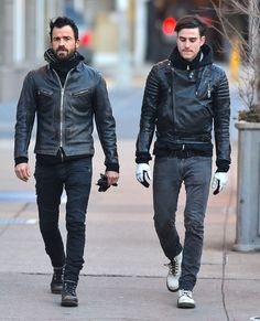 dudes in jeans and leather jackets. what more could you ask for?