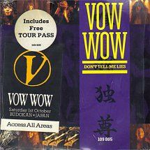 45cat - Vow Wow - Don't Tell Me Lies / Siren Song - Arista - UK - 109 805