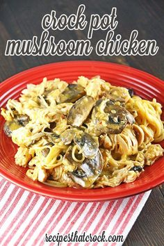 Do you love a great creamy mushroom dish? This Crock Pot Mushroom Chicken uses a golden mushroom base to give it a bit of a richer taste and is so delicious everyone will ask for seconds! Click this button to  to Pinterest to save for later. Cris here. Truth be told I LOVE mushrooms. MY...Read More »