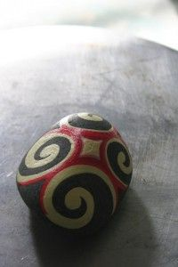 Painted May 16th 2011 for my 365 rock a day project... nice to revisit this stone again which now loves in Taranaki!