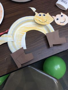 We all attempted to make Puss in Boots but we decided to make our own versions. This cat is named Audrey. Thanks again to the Caryl Crane Youth Theatre for coming today to our Tuesday is for Toddlers!!