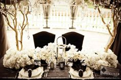 Stunning sweetheart table