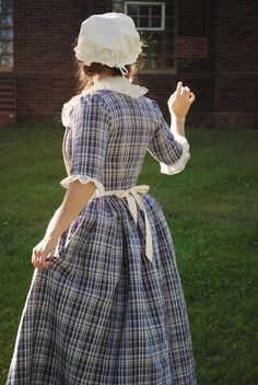 CUSTOM Colonial 18th Century Rococo Dress Gown 1700s House outfit Lace-up front - Google Search