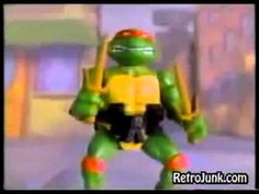 Teenage Mutant Ninja Turtles commercial:   The 14 Most Badass Toy Lines Of The '80s