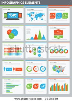 stock vector : Detail infographic vector illustration presentation. World Map and Information Graphics