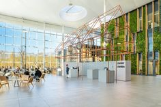 Fokkema & Partners has designed the new offices of Dutch energy company Liander located in Duiven, Netherlands.